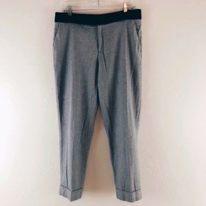 Rachel Roy Gray Black Work Pants Size 10